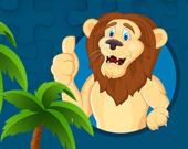 Пазл: Могучие львы