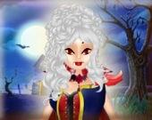 Принцесса-звезда на Хэллоуин