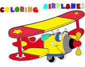 Раскраска: Самолёт 2.0