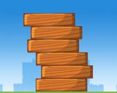 Деревянная башня