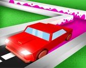 Рули и разбрызгивай - Раскраска 3D