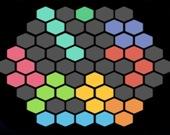 Светящиеся шестигранники