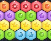 Конфетные шестиугольники