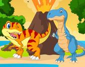 Пазл: Динозавры