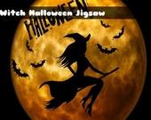 Ведьма на Хэллоуин - Пазл
