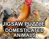 Домашние Животные: игра-пазл