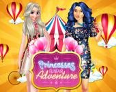 Принцессы: Приключение на ярмарке с аттракционами