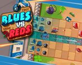 Мелкие синие против Крошечных красных