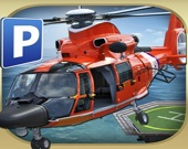 Симулятор парковки вертолёта 3D