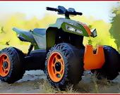 Пазл: Квадроциклы 4x4 для детей