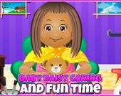 Пазл: Уход и веселье с малышкой Дейзи