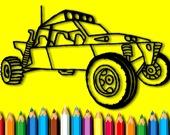 Раскраска: Раллийные автомобили