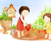Пазл Детский день