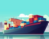 Пазл грузовые корабли