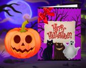 Счастливого Хэллоуина: Принцесса-Дизайнер Открыток