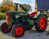 Фермерский трактор - Пазл