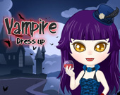 Вампирша: игра-одевалка