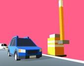 Пробка на парковке 3D
