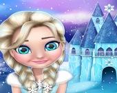 Эльза  Холодное сердце: кукольный дом