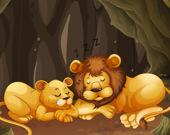 Паззл: Забавные животные в зоопарке