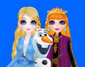 Элиза Даун и Морозная Магия