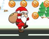 Рождественский паркур Санты