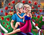 Романтическое свидание Ледяной королевы