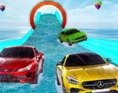 Водные гонки на автомобилях