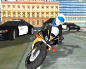Симулятор городского полицейского мотоцикла