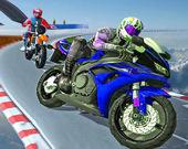 Гонки с трюками на мотоциклах 3D