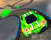 Трюки на экстремальном автомобиле 3D