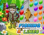 Рыбалка и линии