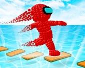 Гонка песчаного человечка 3D