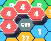 Соедини шестигранники