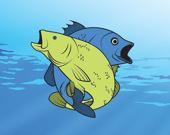 Рыбки-друзья: Раскраска