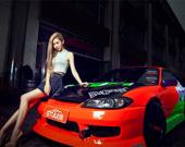 Пятнашки: Девушки и автомобили