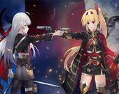 Пазл: Аниме девушки с оружием