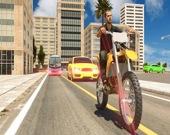 Паркуем мотоцикл