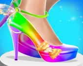 Дизайн модной обуви