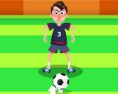 Футбол: Мяч между ног