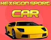 Шестиугольный спортивный автомобиль