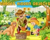 Скрытые предметы в саду