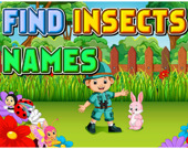 Угадайте названия насекомых