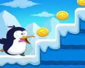Побег пингвина - Прыгай
