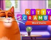 Кошачий скрамбл: башня из слов