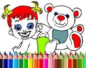 Раскраска: Baby Doll