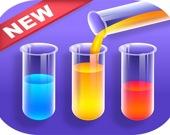 Сортируй цветную воду