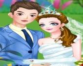 Идеальная свадьба в саду