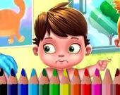 Раскраска: Дети