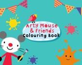 Раскраска: Арти мышь